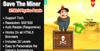 The save miner puzzle physics html5