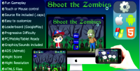The shoot zombies mobile capx html5 and