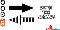 The swipe arrows capx html5 construct2 game