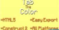 The tab color
