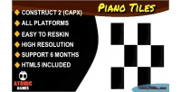 Tiles piano html5 game