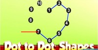 To dot dot game html5 shapes