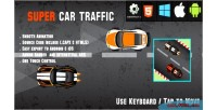 Traffic car html5 racing android game ios capx admob