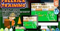 Training freekick game sport html5