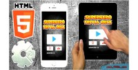 Trivia superhero quiz game casual html5