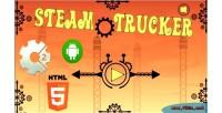 Trucker steam html5 mobile capx game
