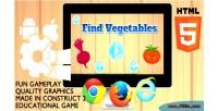 Vegetables find educational