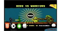 Vs boss warriors