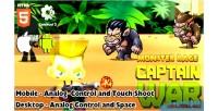 War monster rage html5 capx game war