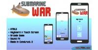 War submarine game arcade html5