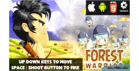 Warrior forest html5 capx game