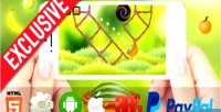 Watermelon mortar html5 mobile capx game