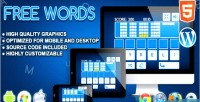 Words free game word html5