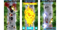 Zombie uprising html5 mobile capx game