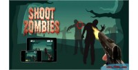 Zombies shoot html5 game