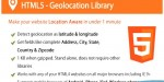 Geolocation html5 decoding address with
