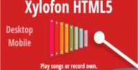 Html5 xylofon