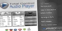 Control total player audio html5