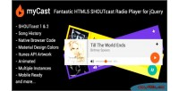 Fantastic mycast html5 player radio shoutcast