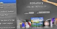 Html5 ccgallery multimedia gallery