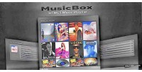 Html5 musicbox music player