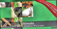 Html5 ultimate video puzzle