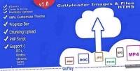 Images gouploader files multiuploader html5