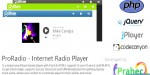 Internet proradio radio player