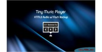 Music player html5 audio backup flash w music