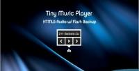 Music player html5 audio backup flash w music