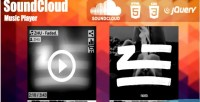 Music soundcloud jquery player