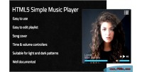 Player s player simple html5