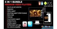 Premium video players bundle 1 in 6