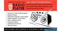 Radio player with playlist icecast & shoutcast