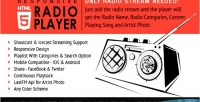 Radio player with playlist icecast & shoutcast
