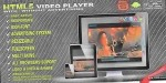 Responsive html5 advertising player video