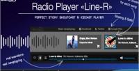 Shoutcast icecast radio player r line shoutcast