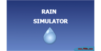 Simulator rain