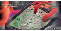 Styled responsive generator maps google