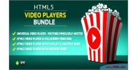 Video html5 bundle uber players
