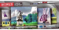 Video html5 player skins multiple with