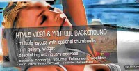 Video html5 youtube background