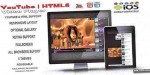 Youtube elegant html5 gallery video responsive