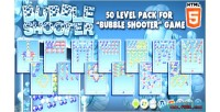 50 levels pack for game shooter bubble