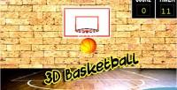 Ball basket 3d