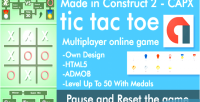 Classic tic tac toe multiplayer online capx html5