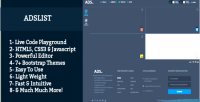 Code live playground themes bootstrap with