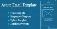 Email astute template