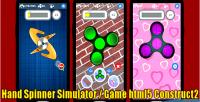 Hand fidget spinner capx simulator game html5