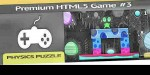 Premium html 5 game puzzle physics 3